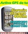 Programamos mapa GPS para Garmin OREGON 400LM de Dominicana