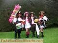 Hora Loca Quito y Valles: garotas, hawaianas, mimos: 3 personajes desde $150 con cotillón