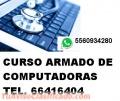 CURSO BASICO DE ENSAMBLADO, INSTALACION Y MANTENIMIENTO DE COMPUTADORAS