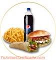 Restaurante de comida rapida y gourmet