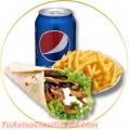 Restaurant kebab pack entregamos directo a tu casa