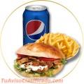 Comida gourmet con productos de alta calidad