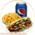 Parrilla, hamburguesas y todo en comida rapida