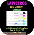 LAPICEROS PUBLICITARIOS CABREJOS