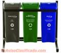 Tachos de basura para puntos Ecologicos