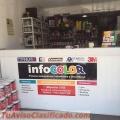 Pinturas Infocolor Ltda Igualacion de Colores : Automotriz , Industrial , Decorativos