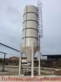 Silo de 40 Toneladas con sistema de esacado de cemento a granel que se regula a 40 kg x sc