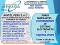 ORDENADORES DE FILAS CROMADAS,MIXTOS, NEGROS AVATEL PERU