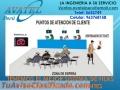 ORDENADORES DE COLAS CON PANTALLAS DE 2, 3 DIGITOS AVATEL PERU SAN MIGUEL