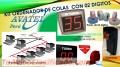 TECNO TURNOS SOLUCIONES ELECTRÓNICOS CON 02 DÍGITOS AVATEL PERU SAC