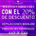 DEPILACIONES CON CERA ESPAÑOLA BISHLAM