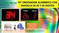 KIT ORDENADOR DE COLAS CON PANTALLA 02 Y 03 DÍGITOS,/INCOTEL /SAN MIGUEL SOLICITELOS 56634