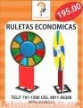 RULETAS PUBLICITARIAS ECONOMICAS