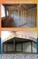 MEZZANINE Y DIVISIONES DE INTERIORES  Trabajos en metal y madera