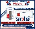 Excelente Calidad, Tecnico De Termas Sole a Gas y Eléctrica 4804581 // En Comas