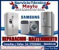 Electrodomesticos samsung - tecnicos especialistas.
