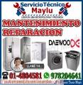 Servicio técnico *DAEWOO* lava secas y refrigeradoras 01-4804581 (( breña ))
