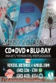 Impresión/duplicado/maquila de CD/DVD/BLU-RAY, Discos impresos, calidad insuperable.