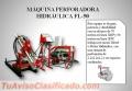 MÁQUINA PERFORADORA PACKSACK HIDRÁULICA FL