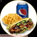 Kebab falafel o vegetal