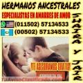 SHAIRA Y JAIR, ESPECIALISTAS EN AMARRES DE AMOR (00502) 57134533