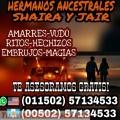 EMBRUJOS DE AMOR... SHAIRA Y JAIR (00502) 57134533