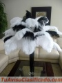 Venta de plumas de avestruz para la decoración de fiestas