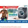 Servicio Técnico Mabe 981091335 (Lavadoras) en Breña
