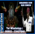 AMARRES CON SAN SIMON, BRUJO ANSELMO (00502) 33427540