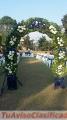 Banquetes, catering, jardines salones para eventos