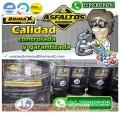 TUS OBRAS DE CALIDAD GARANTIZADA, CON ASFALTO RC-250, IMPRIMANTE MC-30, EMULSION ASFALTICA
