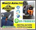 MANTO ASFALTICO, INSTALACION E IMPRIMACION DE CALIDAD GARANTIZADA, CON TU EMPRESA BRIMAX.