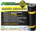 MANTO ASFALTICO ROLLO DE 1X10, GRAVILLADO, ALUMINADO, ARENADO, LO MEJOR PARA TUS TECHOS.
