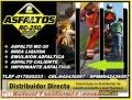 EMULSION ASFALTICA REFORZADA DE ROMPIMIENTO RAPIDO, TELF. 01-7820233.
