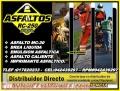 Venta de Emulsión Asfáltica Lima - Perú, Garantía y el Mejor Precio/Cel. 942437882.