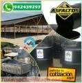 Distribuimos Asfaltos Rc 250 Asfalto Mc30, Emulsion con polimeros. Telf. 01-7820233.