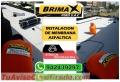 Instalacion de manto asfaltico, elaborado por expertos, Calidad Brimax, Telf. 01-7820233.