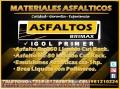 VENTA DE ASFALTO IGOL PRIMER, AQUI LA MEJOR CALIDAD, TELF. 7820233.