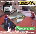 MEMBRANA ASFALTICA GRAVILLADA, ROJO DE 3.5 MM - ROLLO DE 10X1 - BRIMAX PERU SAC.