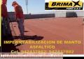 MEMBRANA ASFALTICA GRAVILLADA, ARENADA, ALUMINIZADO, TELF. 7820233.