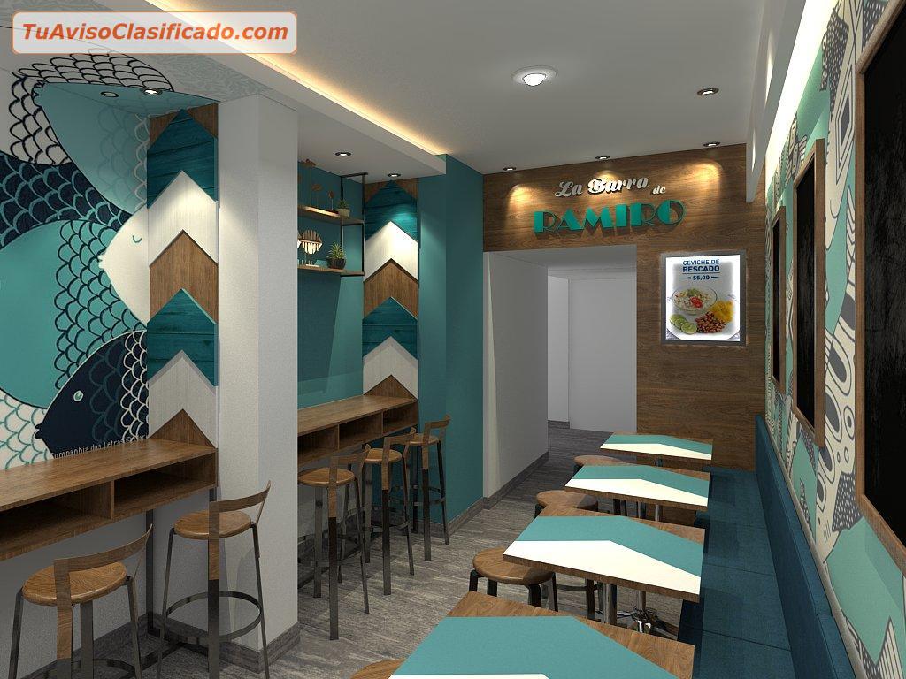 decoraci n de interiores cevicher a restaurantes On decoraciones para cevicherias