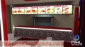 Diseño  remodelacion de Barras polleria