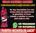 SANTERO MARTÍN ESPECIALISTA EN UNIONES DE PAREJA