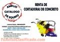 CORTADORAS DE CONCRETO