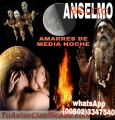 BRUJO PACTADO ANSELMO, AMARRES DE MEDIA NOCHE  (00502) 33427540