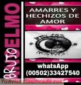 AMARRES Y HECHIZOS DE AMOR DEL BRUJO ANSELMO (00502) 33427540