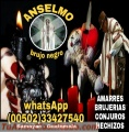 BRUJO ANSELMO... AMARRES DE AMOR, BRUJERIAS EMBRUJOS (00502) 33427540
