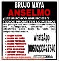 AMARRES DE AMOR 100% EFECTIVOS PARA TODA LA VIDA BRUJO ANSELMO (00502) 33427540