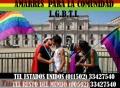 AMARRES Y LIGADURAS DE AMOR PARA LA COMUNIDAD L.G.B.T.I. (00502) 33427540