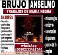 ANSELMO! BRUJO DE GUATEMALA EXPERTO EN MAGIA NEGRA (011502) 33427540